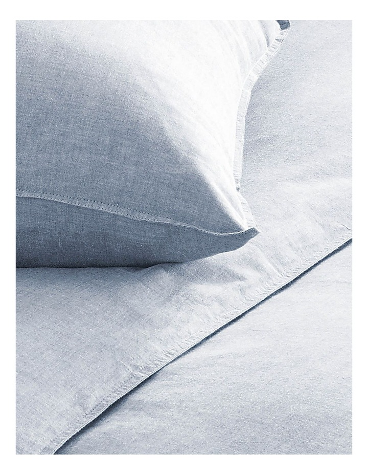 Reilly Sheet Set in Chambray image 2