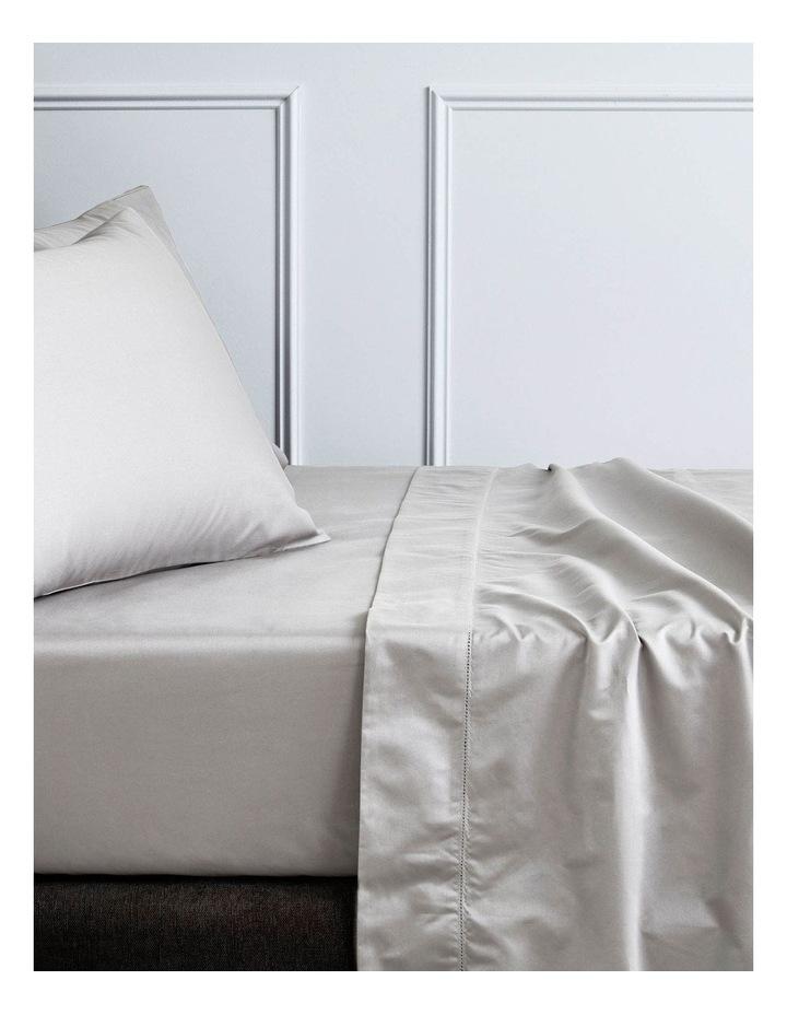 Hotel-Weight Luxury 1000TC Sheet Set in Stone Grey image 1