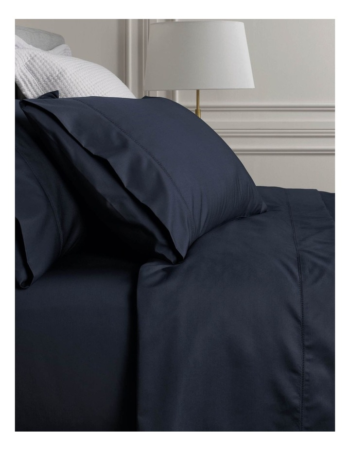 1000TC Hotel Weight King Sheet Set in Midnight image 1