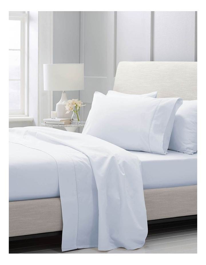 Hotel-Weight Luxury 1000TC Sheet Set in Soft Blue image 2