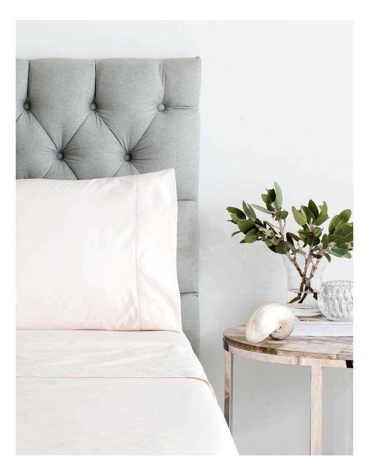 1000TC Hotel Weight King Sheet Set in Tea Rose image 3