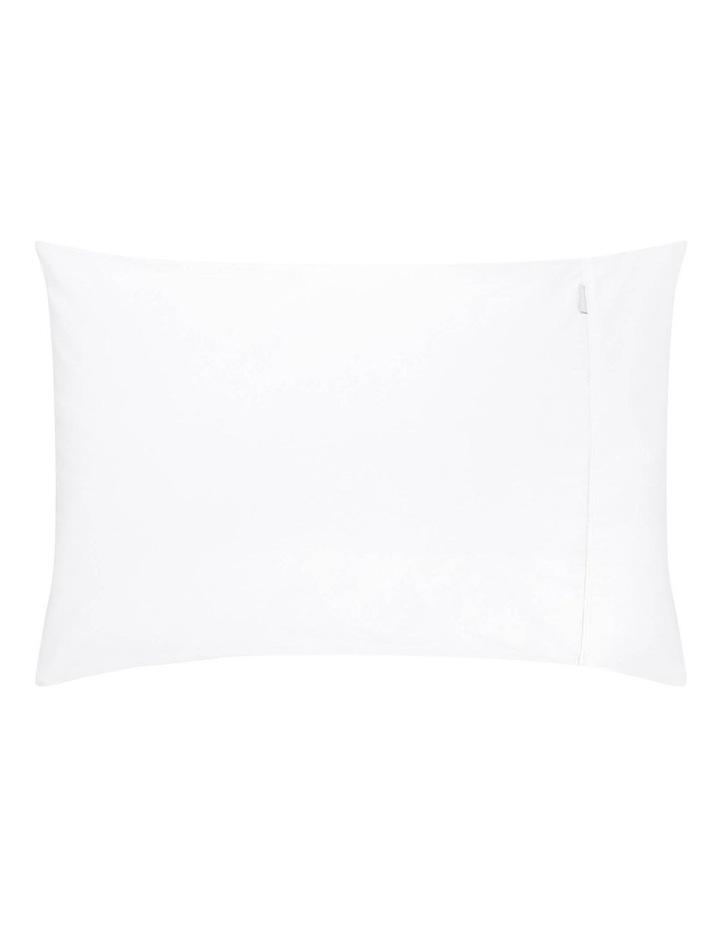 Soft Sateen 400TC King Pillowcase Pair in Snow image 2