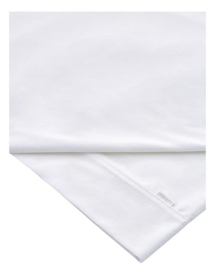 Tencel Lyocell Fibre & Cotton Sheet Set in White image 3
