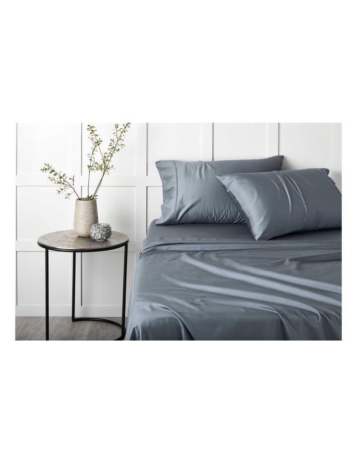 Tencel Lyocell Fibre & Cotton Sheet Set in Slate image 3