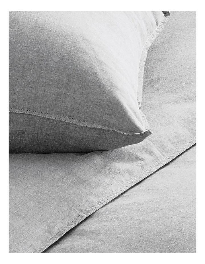 Reilly Bed Linen Range in Fog image 2