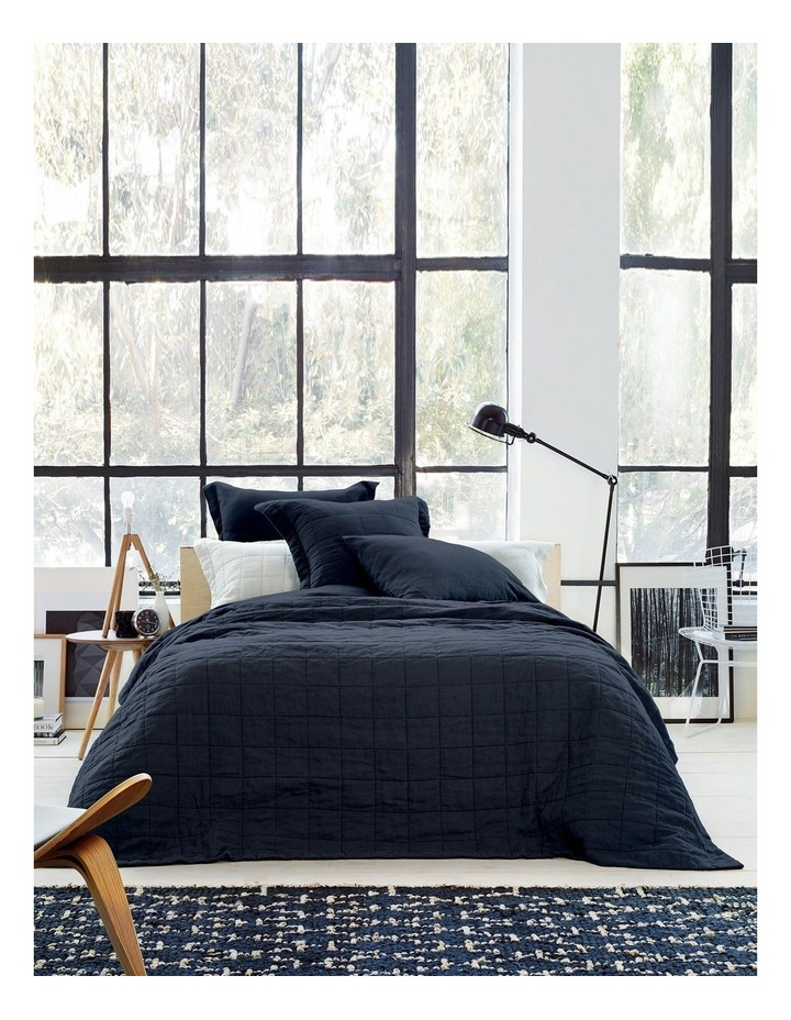 Abbotson Bedcover in Midnight image 1