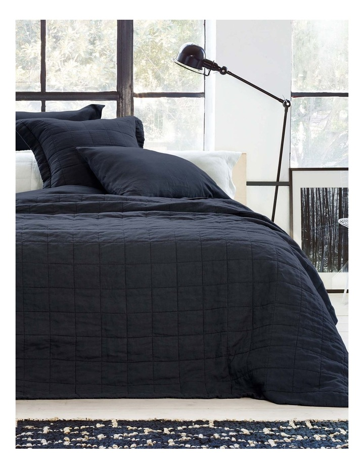 Abbotson Bedcover in Midnight image 2