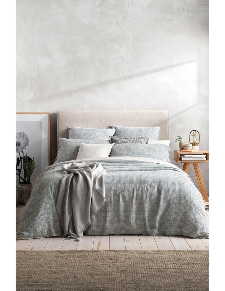 Bartel Tailored Quilt Cover Range in Blue Reef image 1