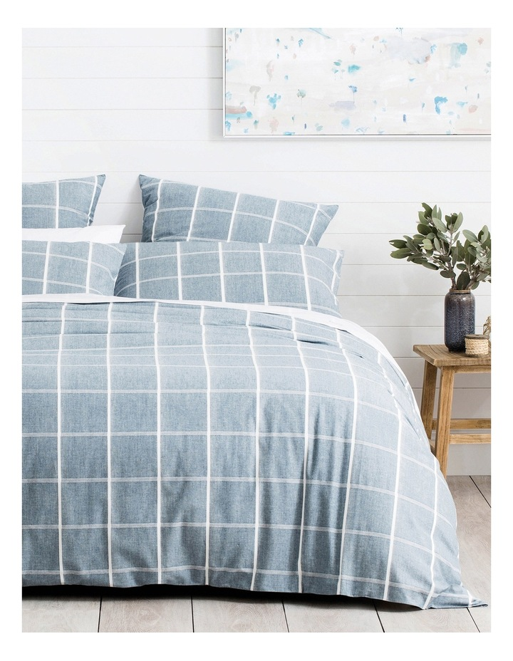 Willowvale Quilt Cover in Deepwater image 1