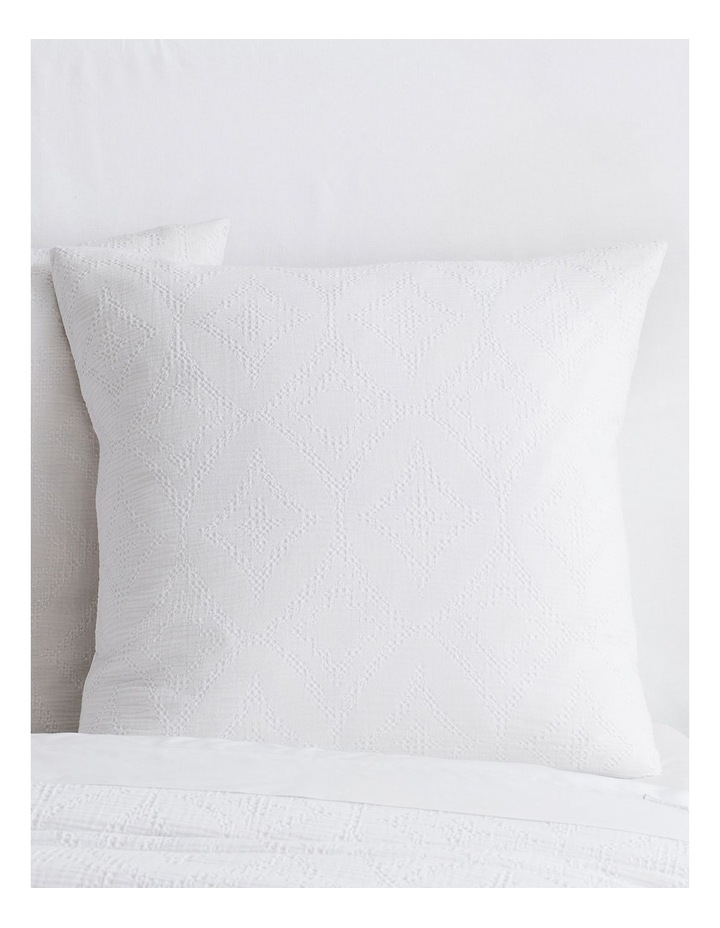 Hodges Quilt Cover in White image 2