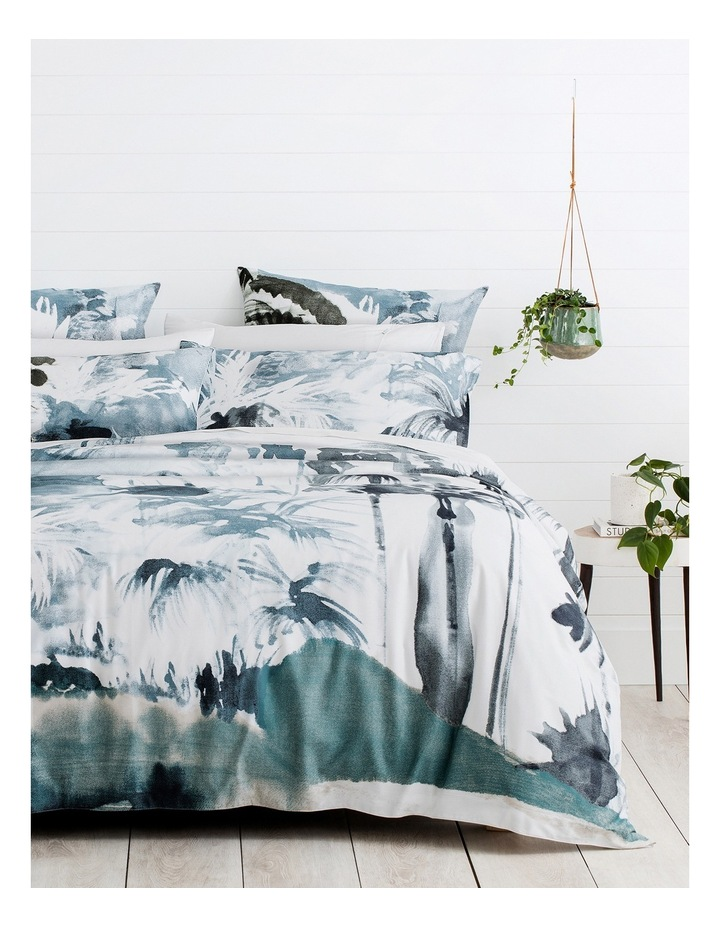 Mossgrove Quilt Cover in Deepwater image 1