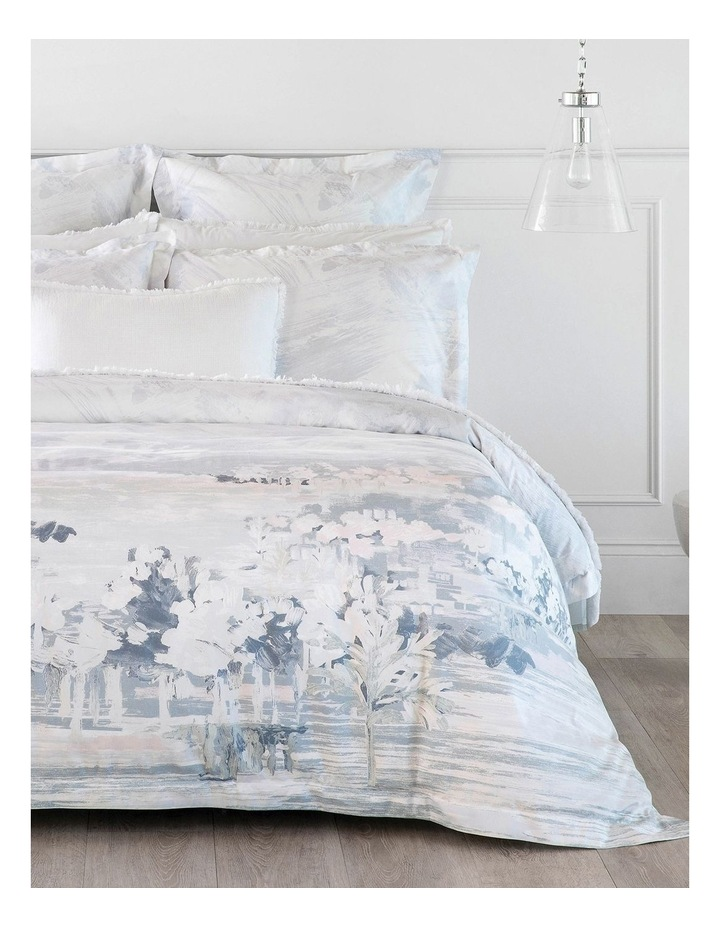 Elsworth Quilt Cover in Mirage Blue image 1