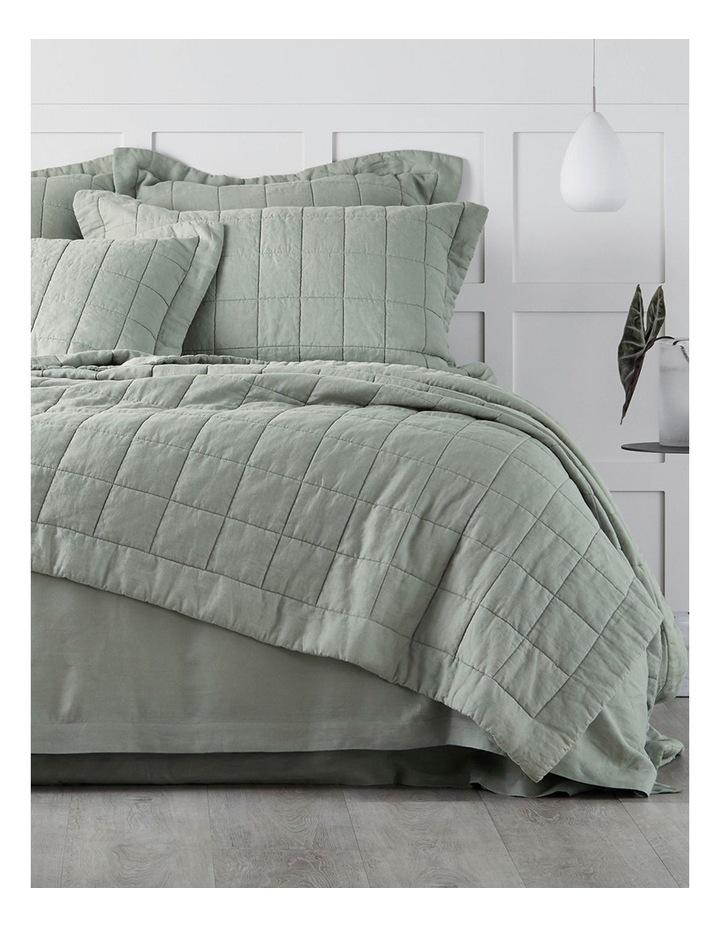 Abbotson Bed Linen Range in Pistachio image 1