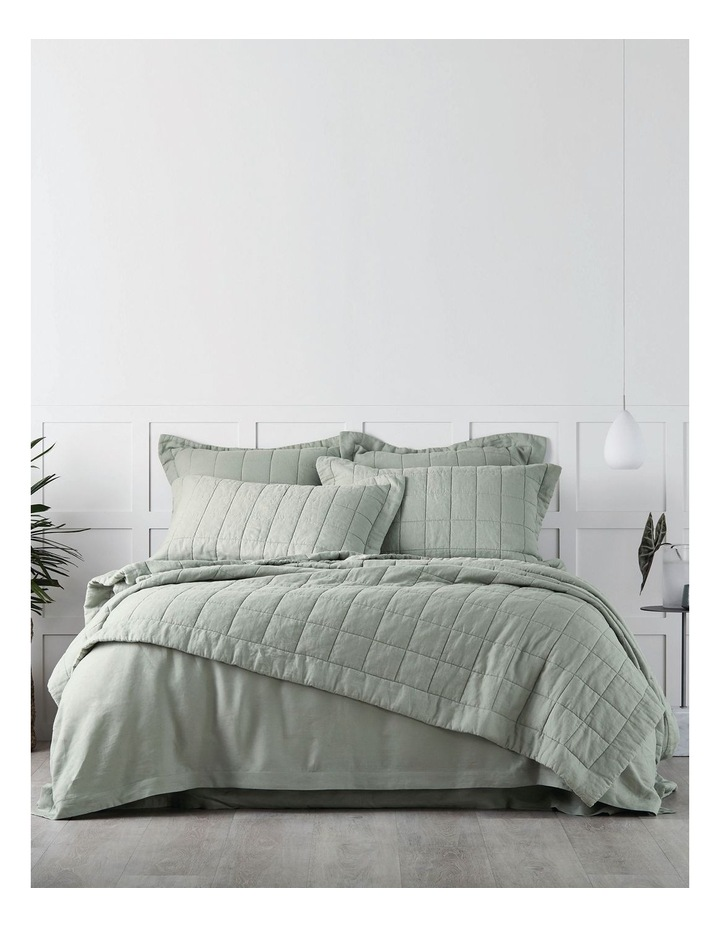 Abbotson Bed Linen Range in Pistachio image 5