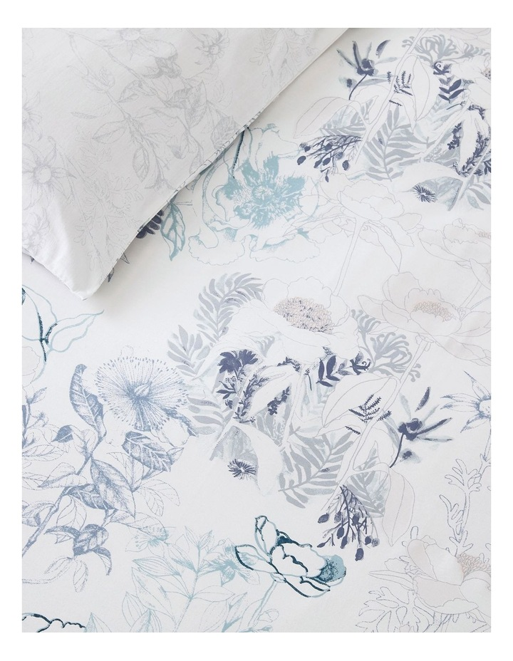 Bloombury Quilt Cover Set in Lake image 2