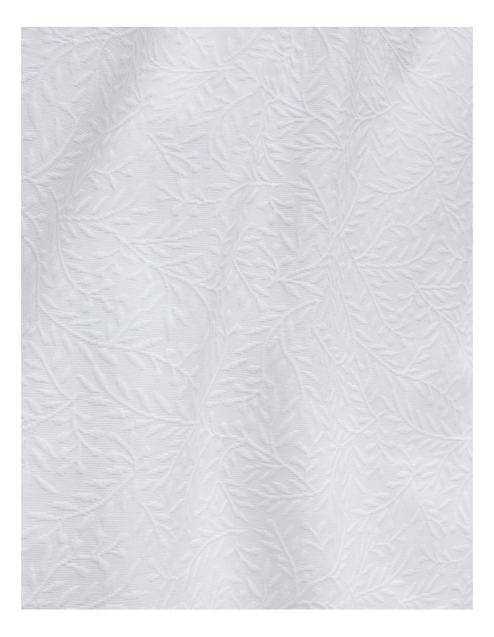 Castilla Quilt Cover in White image 2