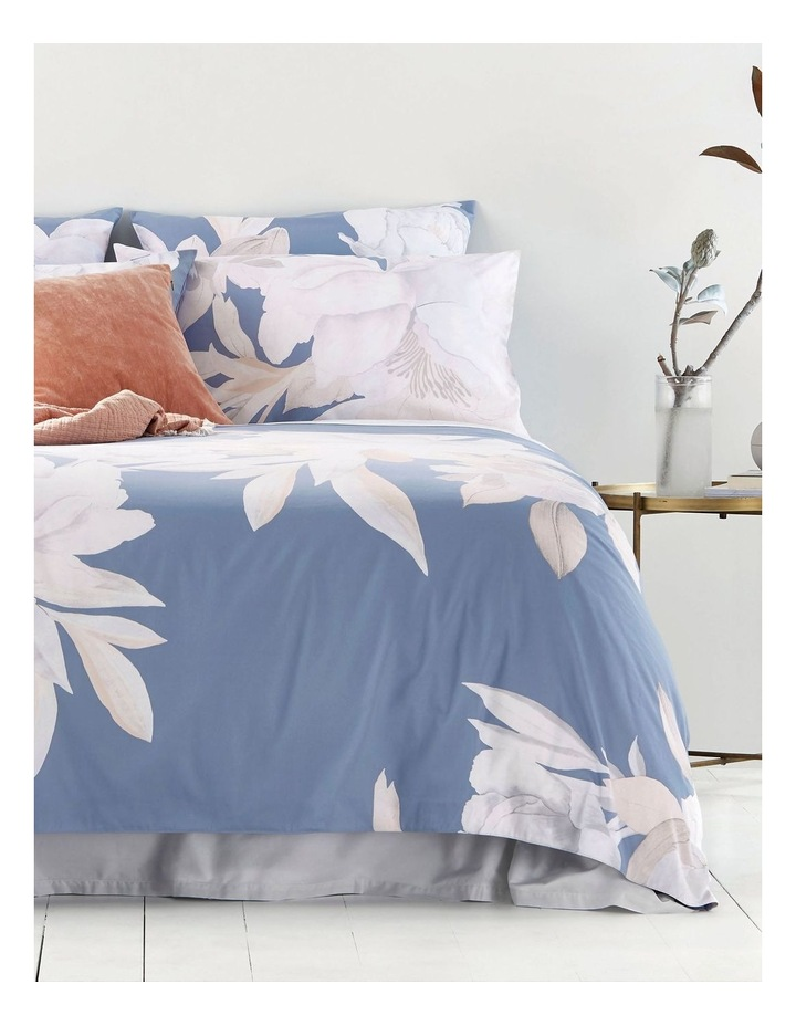 Heathfield Quilt Cover in Mirage Blue image 1