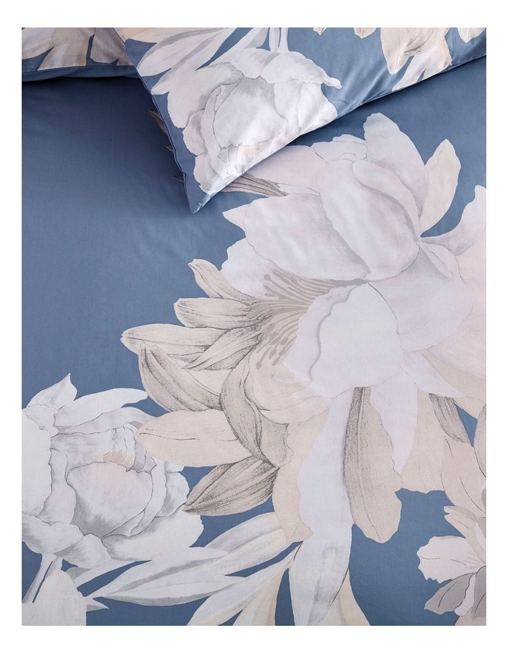 Heathfield Quilt Cover in Mirage Blue image 2