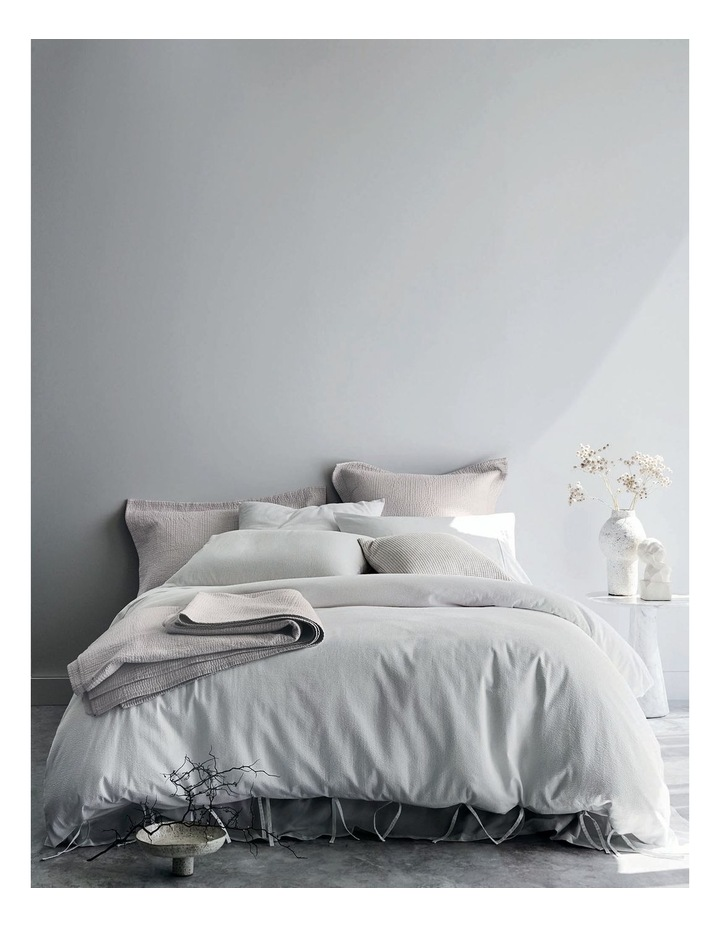 Marramas Quilt Cover in White image 4