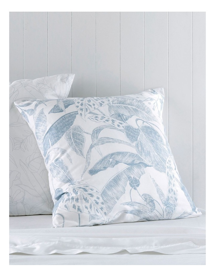 Blue Chambray Bed Linens