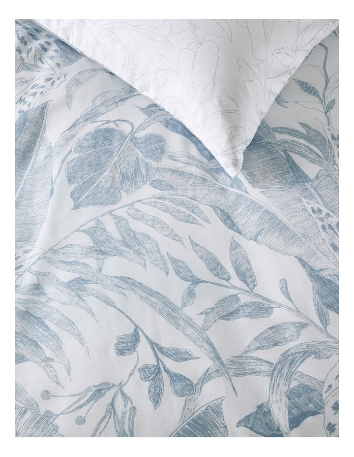 SURIYA Queen Standard Quilt Cover Set in Chambray image 2