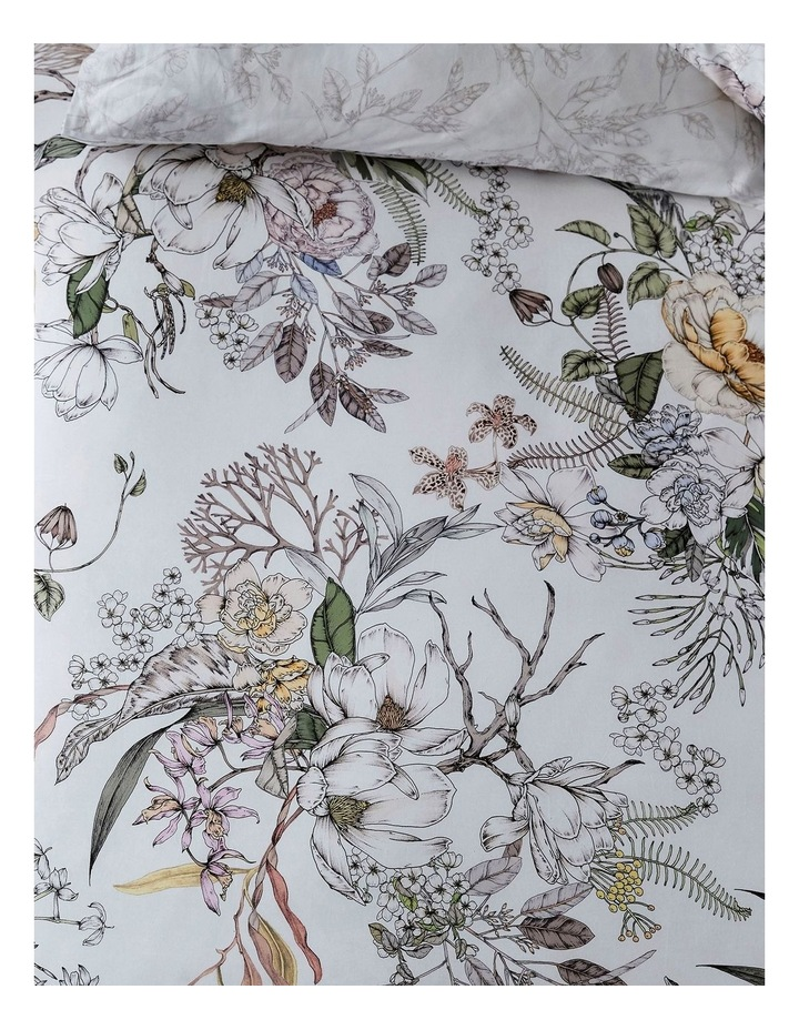 The Botanist Quilt Cover Set in Multi image 2