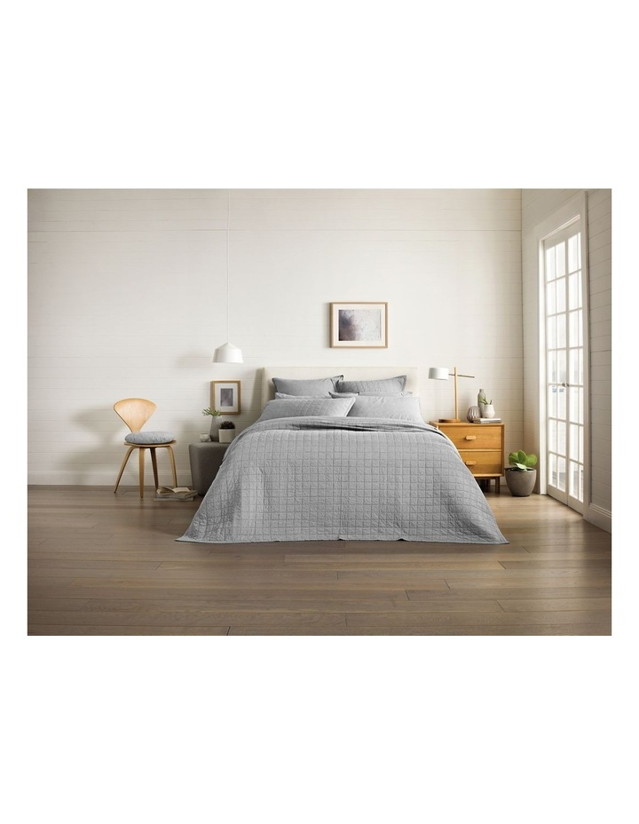 Reilly Bedcover in Fog image 1