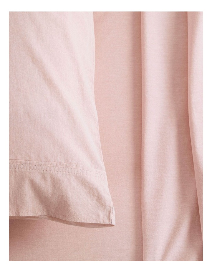 Reilly Bed Linen Range in Soft Pink image 2
