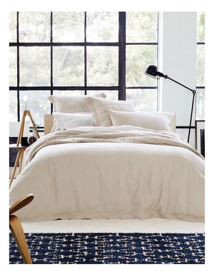 Abbotson Pillowcase Pair in Flax image 3