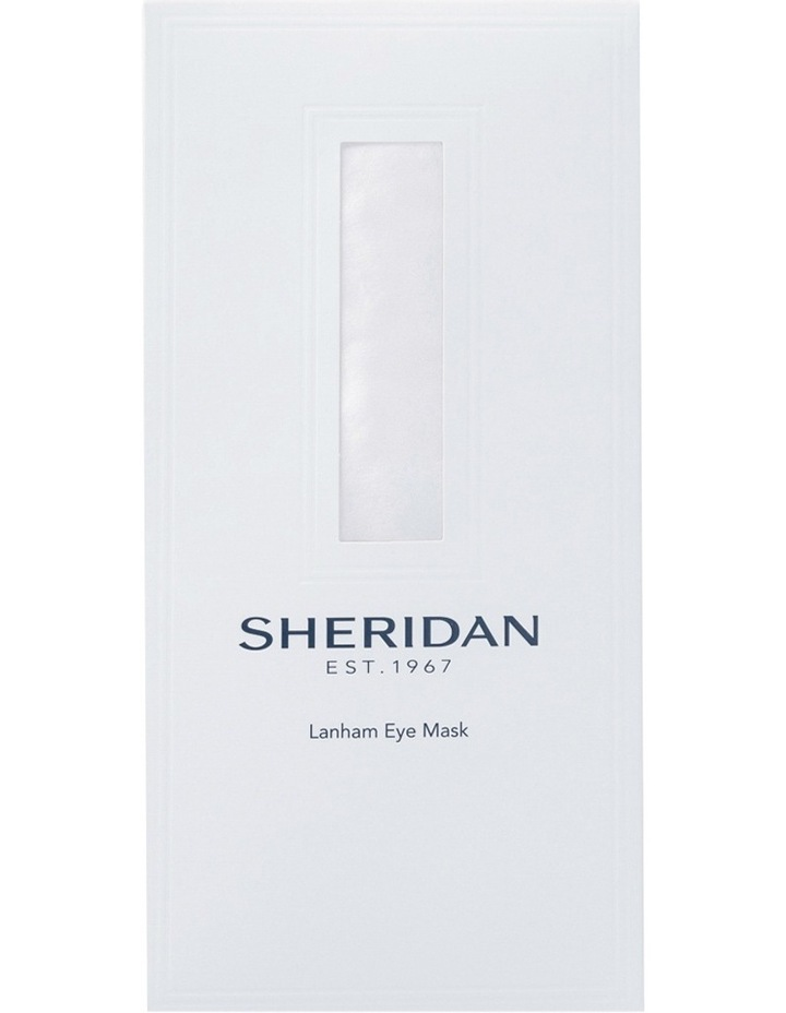 Sheridan Silk Eye Mask: Shell image 2