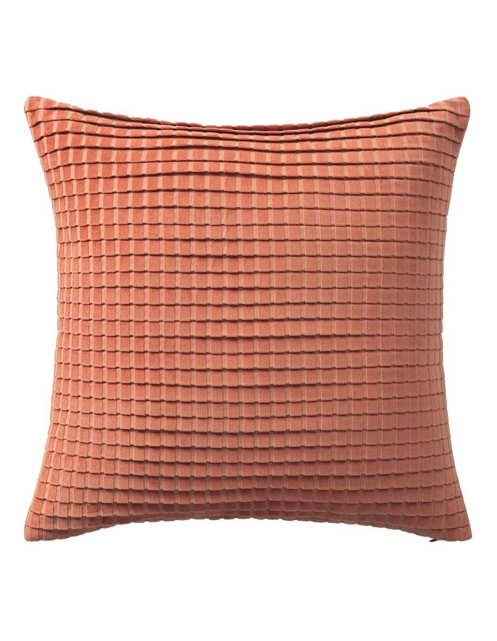 Ervine Cushion in Red Earth image 1