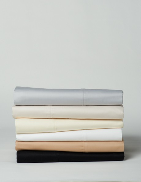 Soft Sateen 400TC Cotton Fitted Sheet image 1