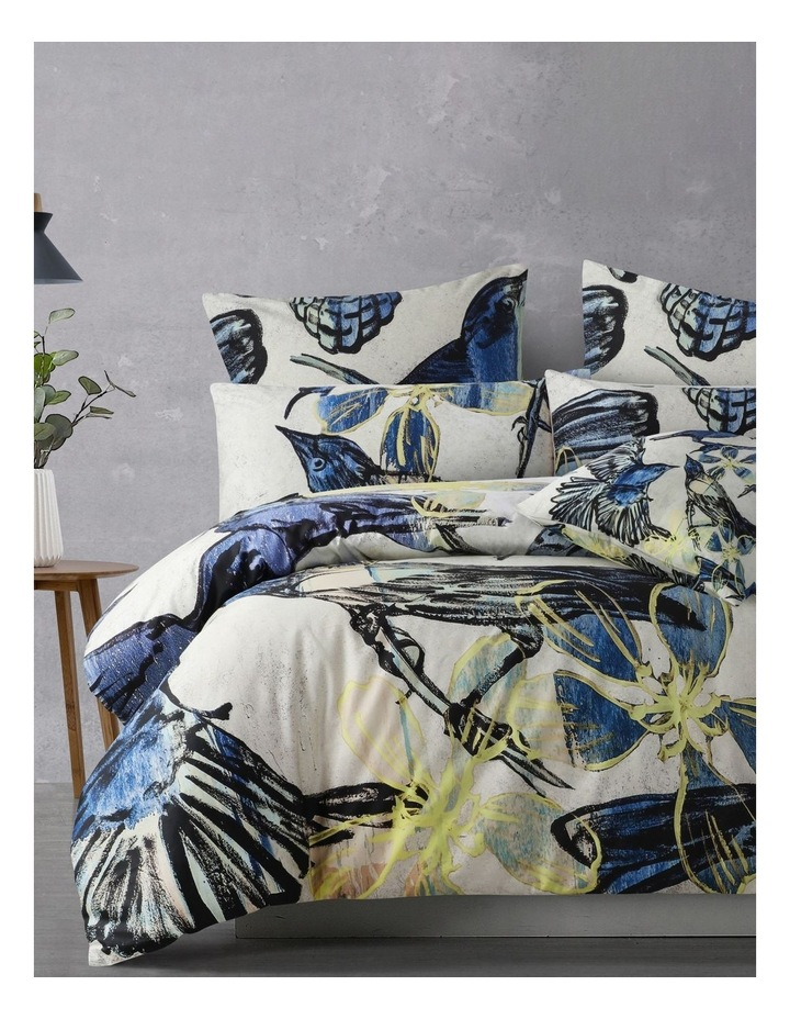 Birds Quilt Cover Set in Blue image 1