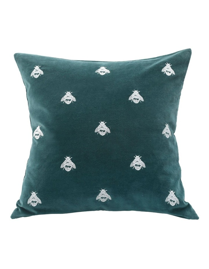 Buzz Cushion 30x50cm in Emerald image 1