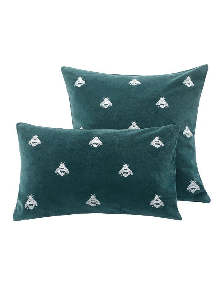 Buzz Cushion 30x50cm in Emerald image 2