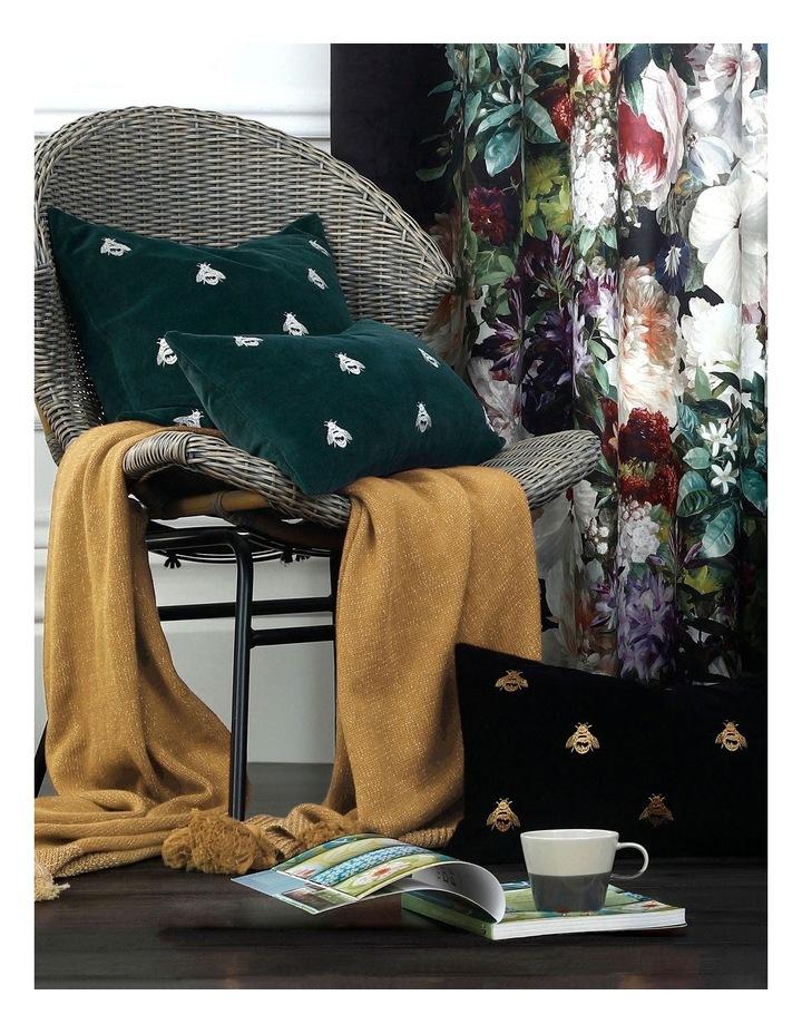 Buzz Cushion 30x50cm in Black image 3
