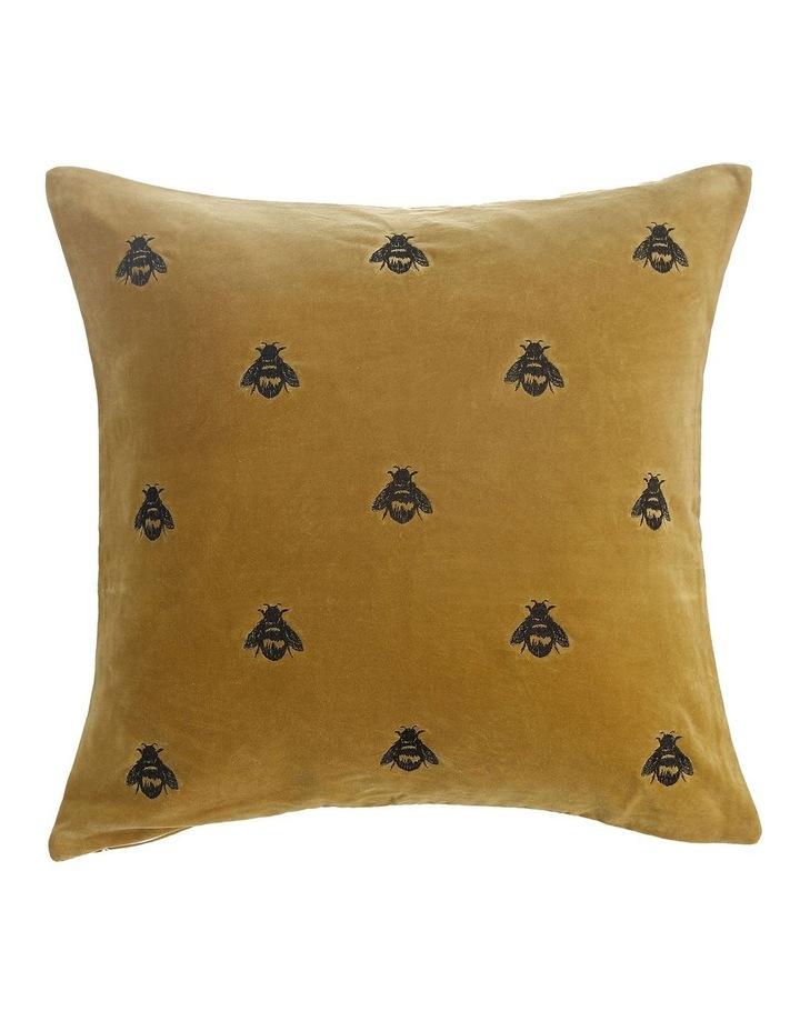 Buzz Cushion 50x50cm in Mustard image 1