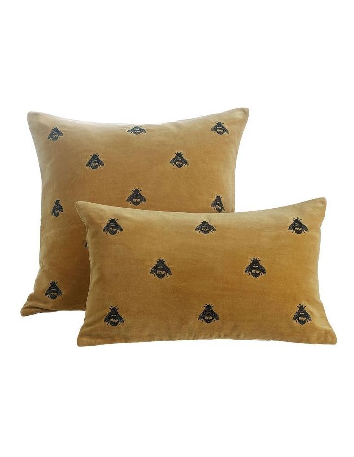 Buzz Cushion 30x50cm in Mustard image 1