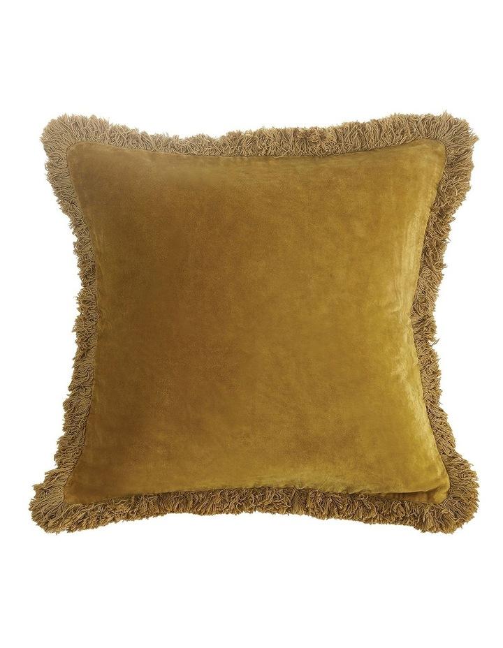 Sabel Cushion 50x50 in Mustard image 1