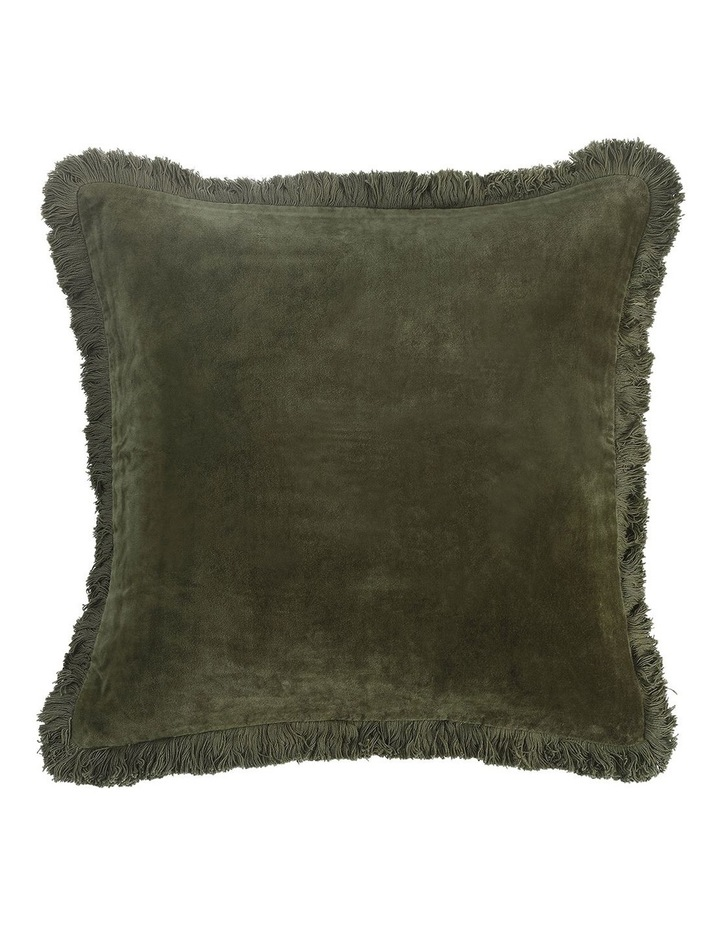 Sabel Cushion 50x50 in Olive image 1