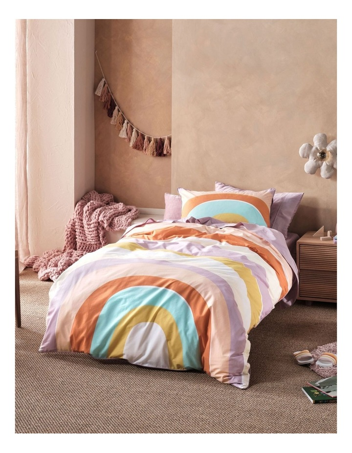 Let The Good Times Roll Quilt Cover Set in Lilac image 1