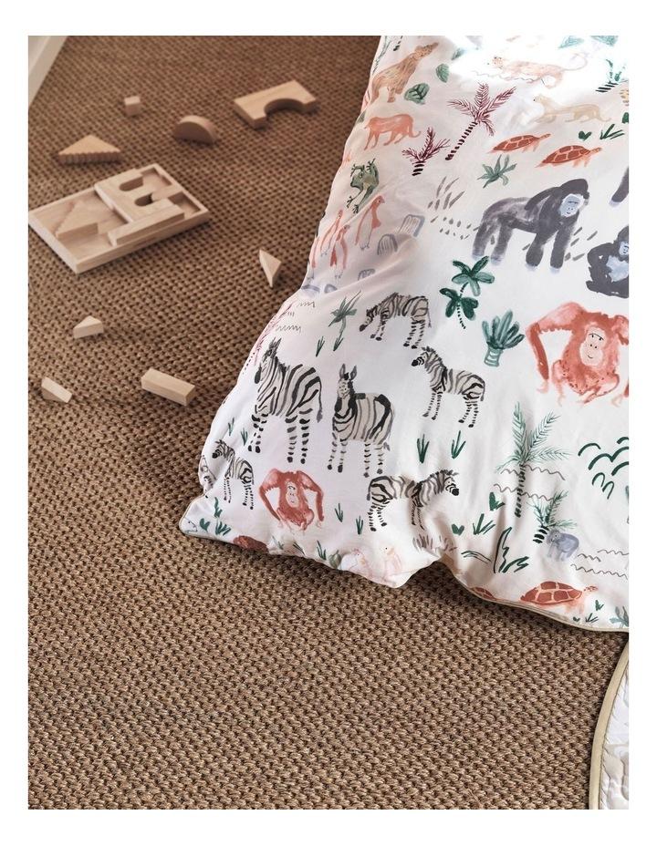 I Spy Something Wild Quilt Cover Set in Multi image 3