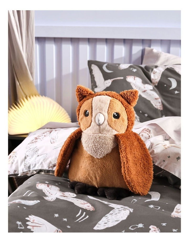 I'm a Hoot Cushion in Brown image 2
