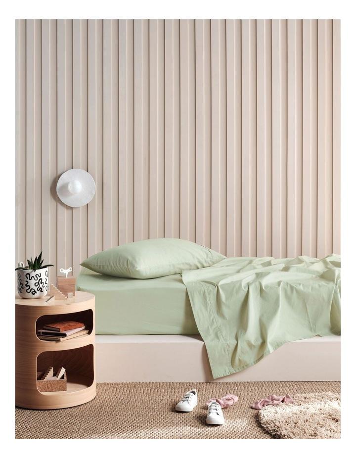 225TC Lollipop Sheet Set in Wasabi Green image 1