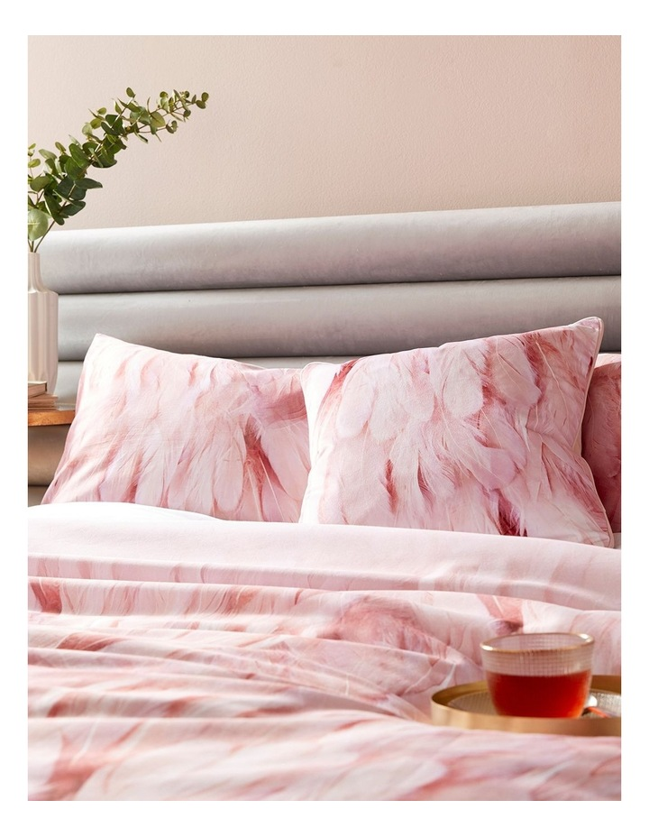 Angel Falls Quilt Cover in Pink image 2