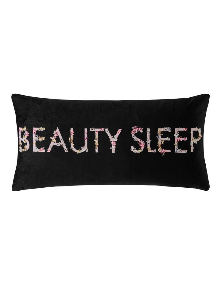 Beauty Sleep Cushion in Liquorice image 1