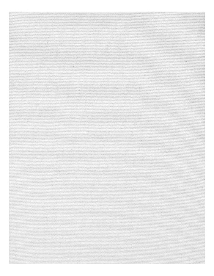 Halo Organic Cotton Sheet Set in White image 2