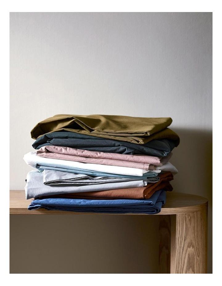 Halo Organic Cotton Sheet Set in White image 5
