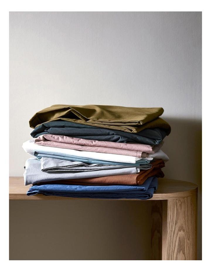 Halo Organic Cotton Sheet Set in Khaki image 3