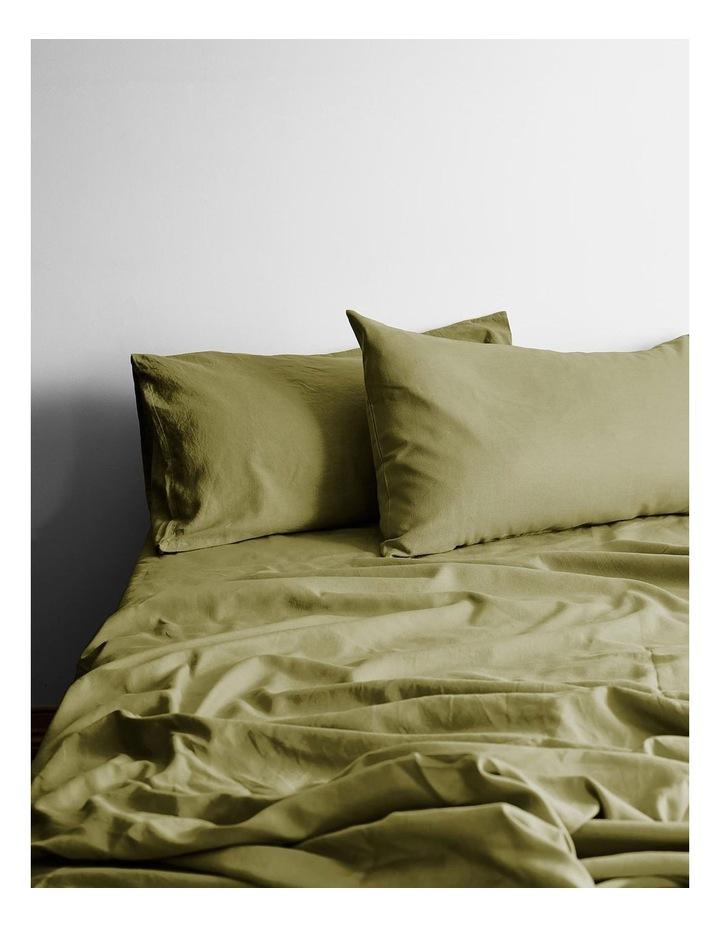Maison Vintage Sheet Set - Olive image 1